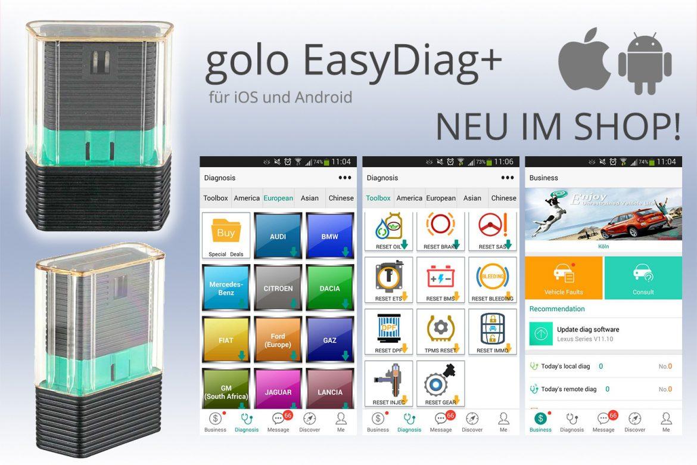 LAUNCH golo EasyDiag+ Diagnose ODB2