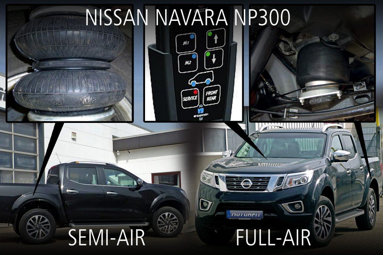 Nissan Navara NP300 Luftfederungen