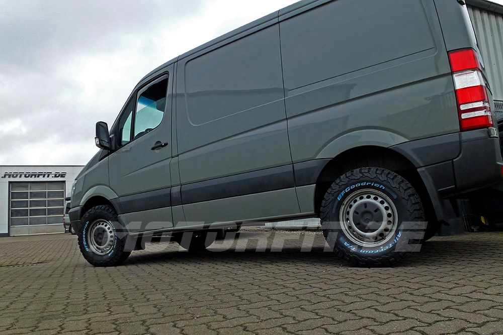 Mercedes benz Sprinter W906 Allrad