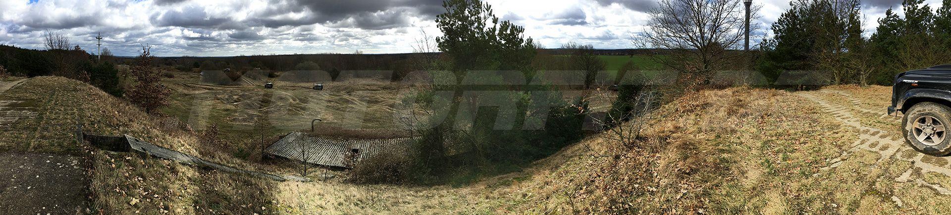 Landrover Defender - Safari Ausfahrt 2017