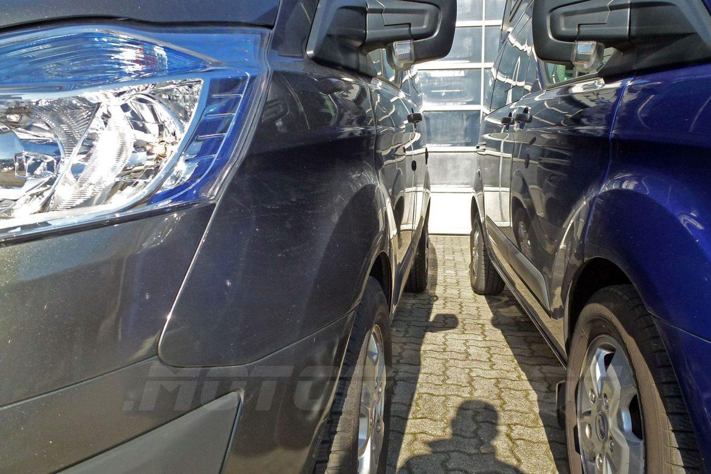 Ford Nugget 2017 Spurverbreiterung