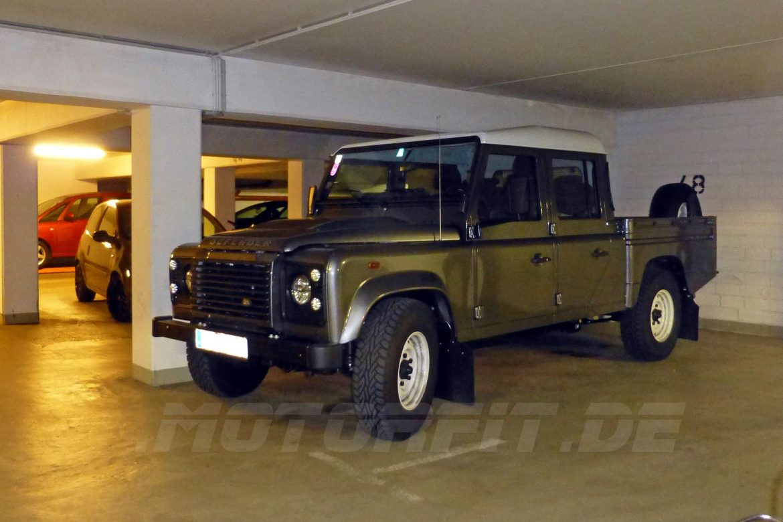 Land Rover Defender Voll-Luftfederung
