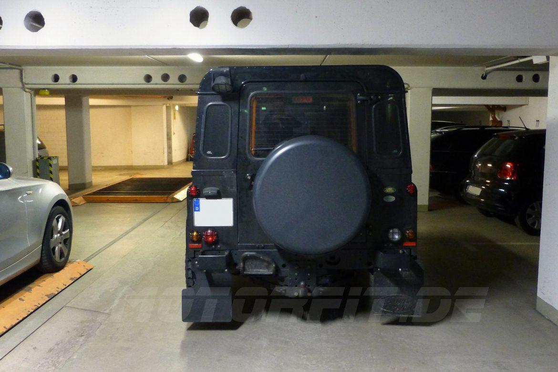 Defender 90 Tiefgarage Voll-Luftfederung
