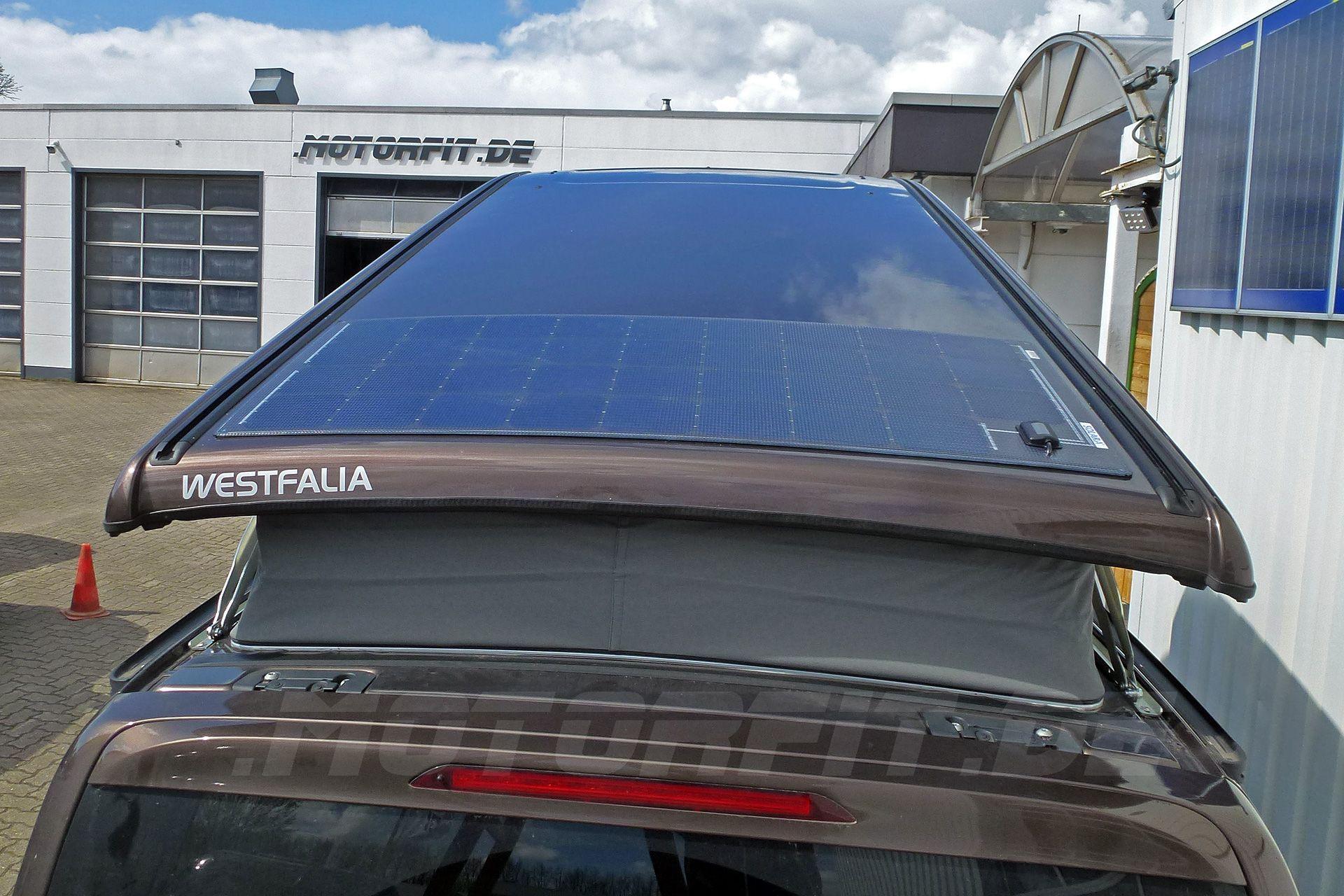 mercedes benz marco polo solar 115 watt autark high mit. Black Bedroom Furniture Sets. Home Design Ideas