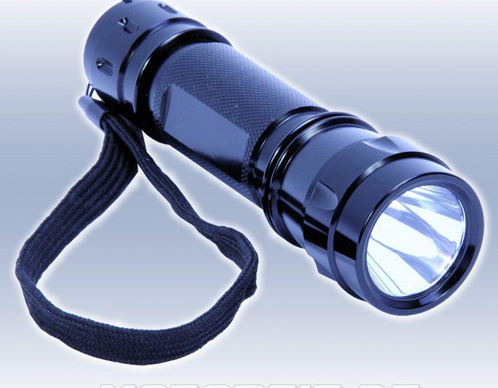 KUNZER LED-Taschenlampe mit 200 Lumen