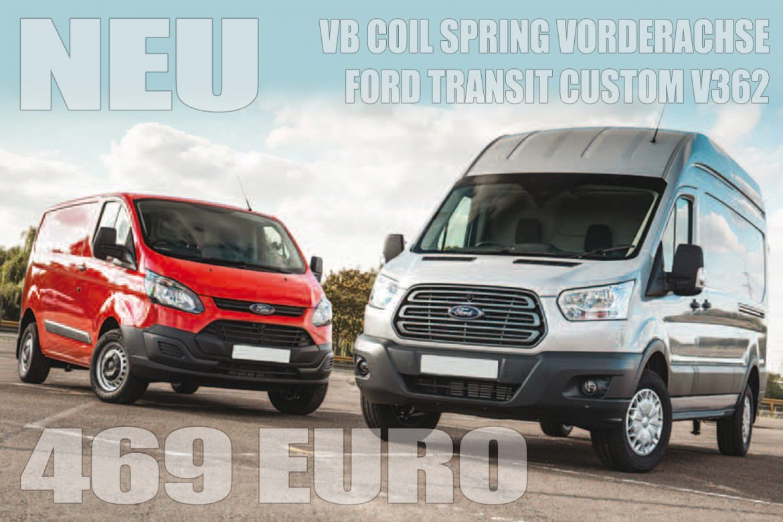 VB COIL SPRING Zusatzfeder Vorderachse für Ford Transit Custom V362 (2014-heute)