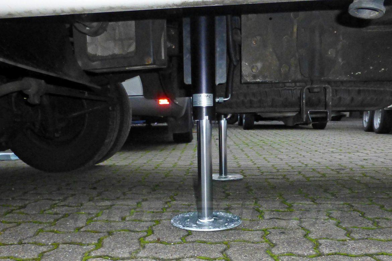 Hydraulische s Hubstützensystem für Reisemobile