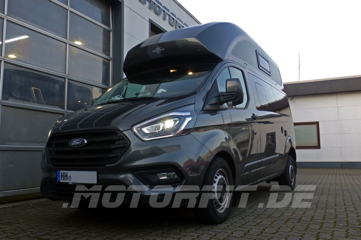 Ford Nugget Plus Semi-Air Luftfederung + Ladewandler VCC 1212-30