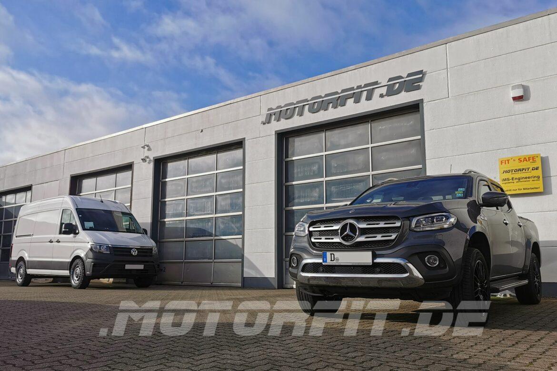 Mercedes X-Klasse Luftfahrwerk für Wohnkabine