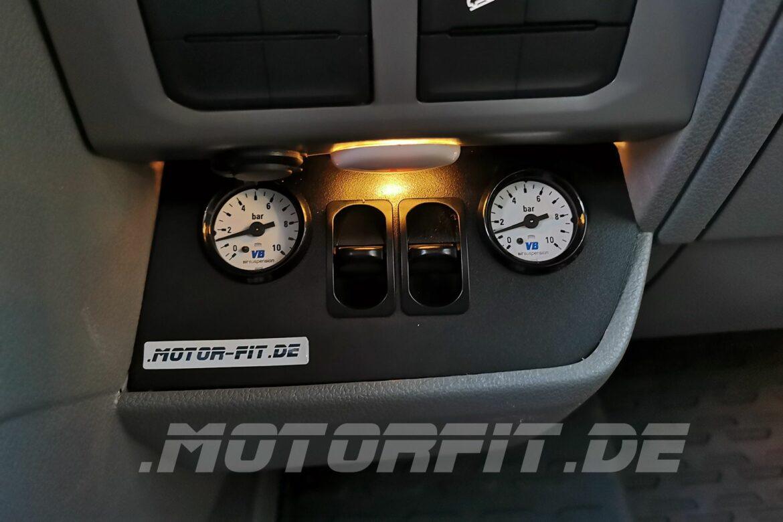 VW Grand California mit Luftfederung und Auflastung
